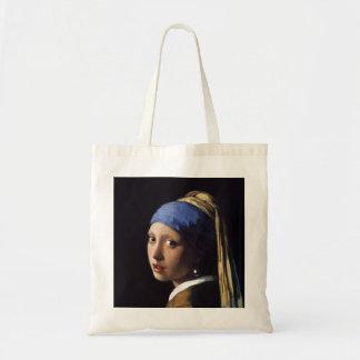 Flickan med ett pärlemorfärg örhänge av Johannes Tygkasse