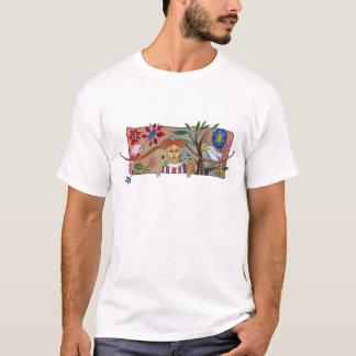 flickan med flätar t-shirts