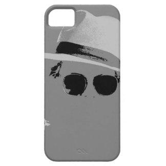 Flickan med hatten & skuggar iPhone 5 cover