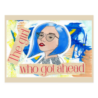 Flickan som fick framåt vykort