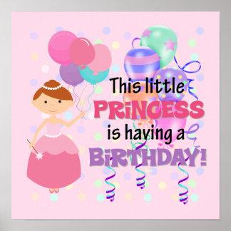 FlickaPrincess Födelsedag Posters