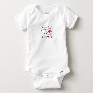 Flickatrasa för julgåva t-shirt