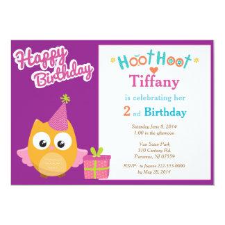 Flickaugglafödelsedagsfest inbjudan