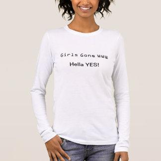 Flickor borta www 3 t shirts