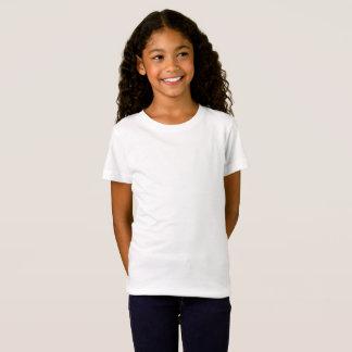 Flickor bötfäller den Jersey T-tröja T-shirts