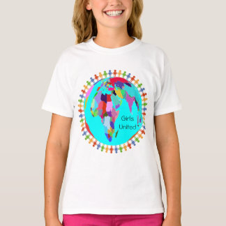 Flickor förenad design 1 tröjor