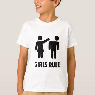 Flickor härskar trycket tshirts