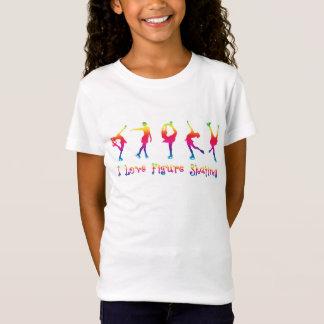 FLICKOR - jag älskar konståkningen som är ljusa Tshirts