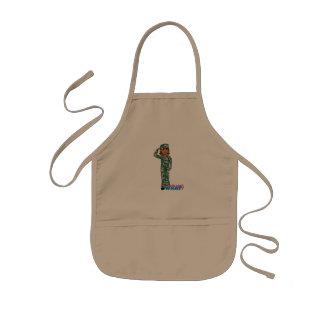 Flickor kan inte VAD? ColorizeME anpassad design Barnförkläde