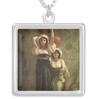 Flickorna av Alvito, 1855 Silverpläterat Halsband