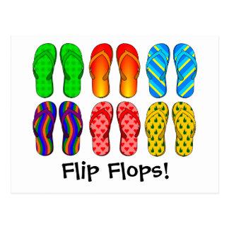 Flinflip flops vykort