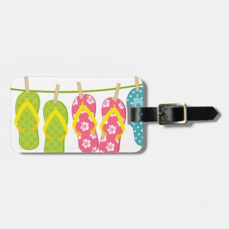 Flinflip flopsklädstreck bagagebricka