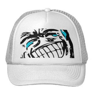 Flint komiskt ansikte baseball hat