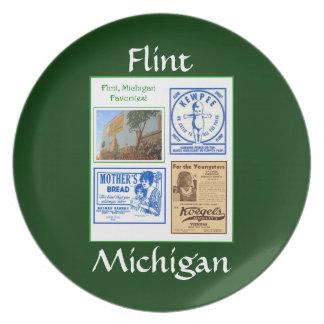 Flinta Michigan favoritmatar Tallrik