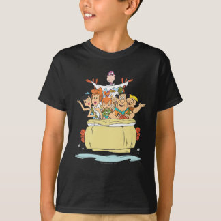 Flintstonesfamilj Roadtrip T Shirts