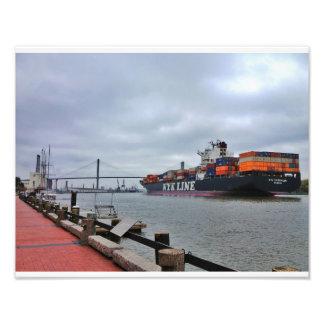 Flodgata, Savannah Fototryck