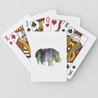 Flodhäst Casinokort
