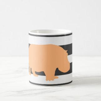 flodhäst kaffemugg