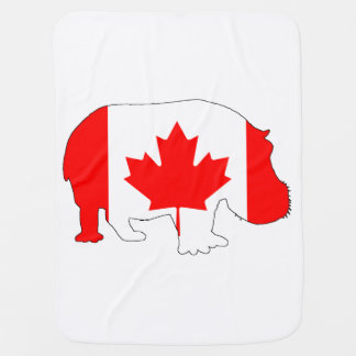 Flodhäst Kanada Bebisfilt