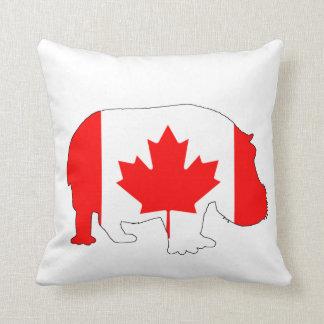 Flodhäst Kanada Kudde