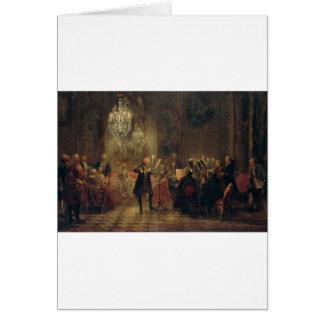 Flöjtkonsert med Frederick den underbara Hälsningskort