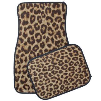Floor matar för Leopardtryckbil Bilmatta