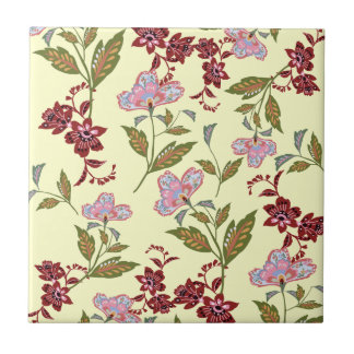 floramönster kakelplatta