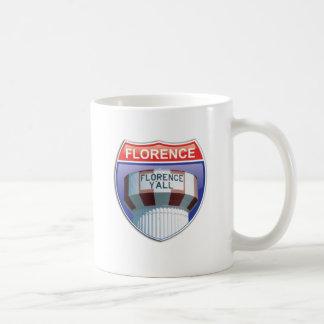 Florence bevattnar du det Interstate torn Kaffemugg