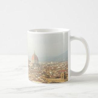 Florence eller Firenze italienCityscape Kaffemugg
