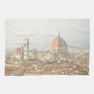 Florence eller Firenze italienDuomo Kökshandduk
