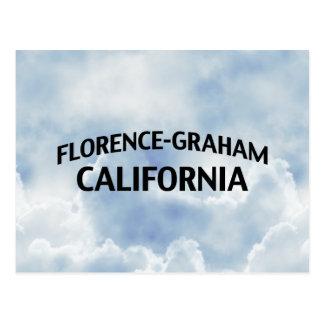 Florence-Graham Kalifornien Vykort