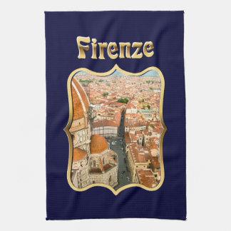 Florence italien (duomoen) kökshandduk