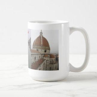 Florence italien Mång--Beskådar muggen Kaffemugg