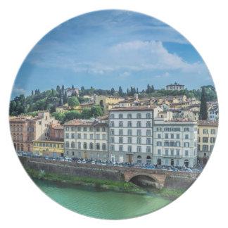 Florence italien tallrik