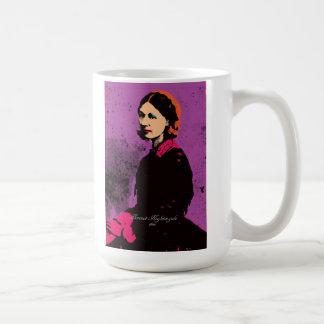 Florence Nightingale med popkonst Kaffemugg