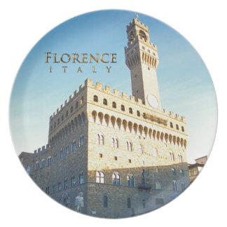 Florence - Piazzadella Signoria Tallrik