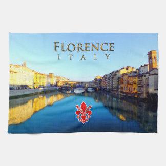 Florence - Ponte Vecchio Kökshandduk