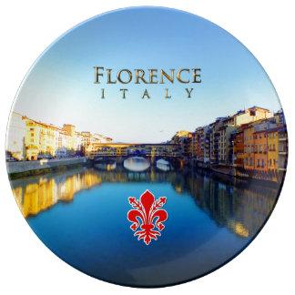 Florence - Ponte Vecchio Porslinstallrik