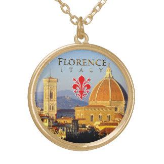 Florence - Santa Maria del Fiore Guldpläterat Halsband