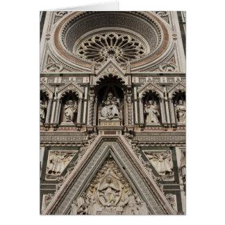 Florence Tuscany, italien Hälsningskort