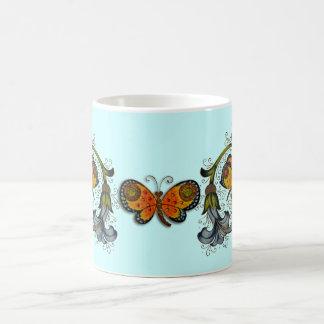 Florentine renaissancefjärilsmugg kaffemugg