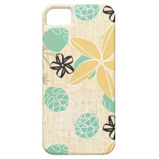 Flores-Beige iPhone 5 Hud