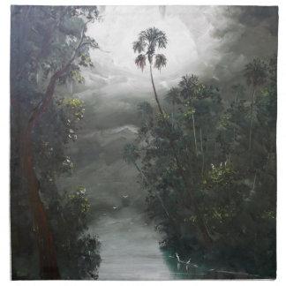 Florida dimmig flodMoss Tygservett