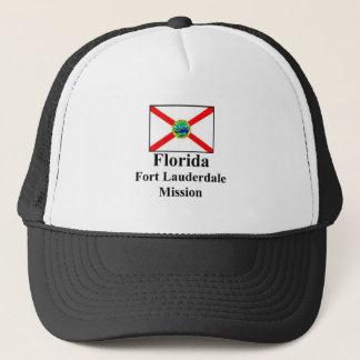 Florida Fort Lauderdale beskickninghatt Truckerkeps