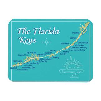 Florida nyckelkarta magnet