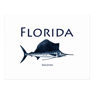Florida Sailfish Vykort
