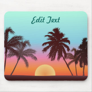 Florida solnedgång musmatta