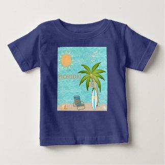 Florida tropiskt vatten som surfar blåtthavhavet tee shirt