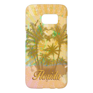 Florida vintage, palmträd galaxy s5 skal