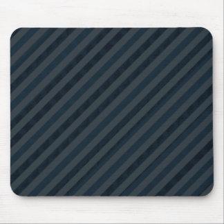 Flott beställnings- mörk Aqua & marinblått - Musmatta